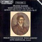 Wind Quintets Vol. 2 (phil. Blaserquintett Derwinger) Franz Danzi Audio CD