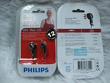 Philips SHE1360 In-Ear Headphones SHE 1360 Bass Vents Earphones
