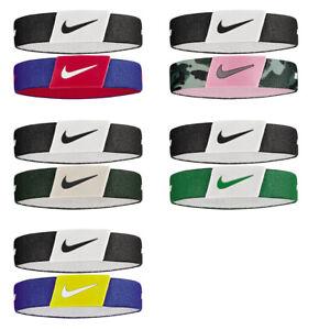 stasera luminosa in modo trasparente  Nike Braccialetto Baller Bands Pack 2 unità NBA Basket Running Reversibile  | eBay