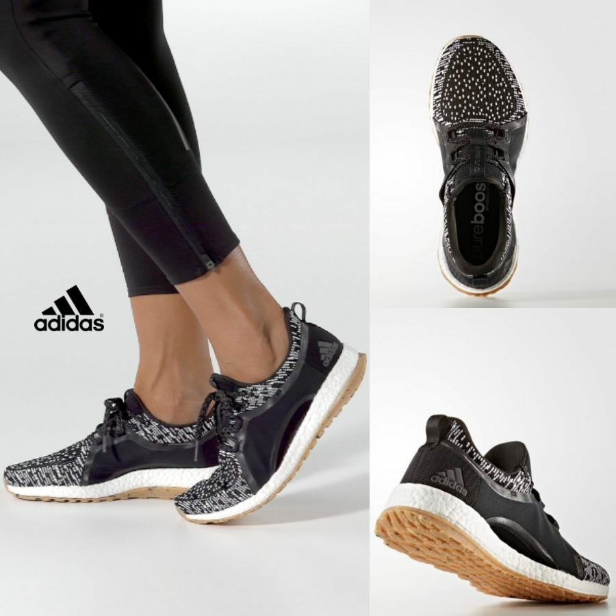 9a0388160ae67 Adidas Women s Pure Boost X ART Running Sneakers Black BY2691 SZ 5-11. black