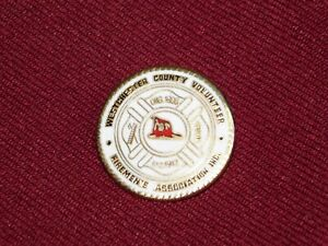 VINTAGE-PIN-PINBACK-WESTCHESTER-COUNTY-VOLUNTEER-FIREMEN-039-S-ASSOCIATION