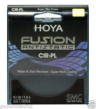 NEW HOYA Super Slim Frame Multi-Coated Fusion Antistatic CPL Cir-PL Filter 49mm