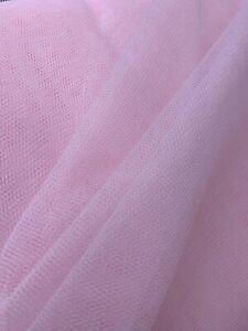 Dress Net Tutu Fabric Tulle Mesh Fabric-1 m x 300 cm  Slightly Stiff Silk White