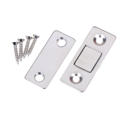 2pcs Magnetic Door Closer Catches Strong Magnet Catch Latch for Cabinet`Cupboard