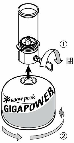 New Peak Snow Peak New gas lantern Little lamp Nocturne a31f2d