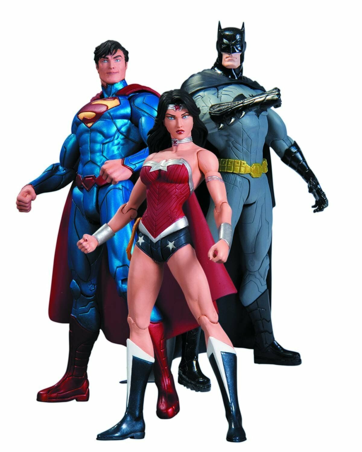 6The New 52  Trinity War Box Set by Dc Collectibles