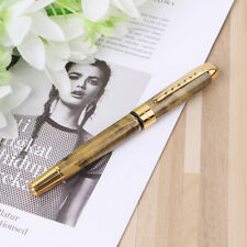 High Quality JINHAO X250 18kgp Fountain Pen Medium Deluxe Gold