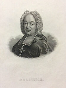 Francois-xavier-in-Belsunce-of-Calstelmoron-Bishop-Marseille-19th-Engraving