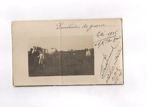 CPA-Carte-postale-ancienne-militaria-Soldat-et-cultivateur