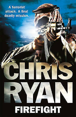 1 of 1 - RYAN,CHRIS-FIREFIGHT  BOOK NEW
