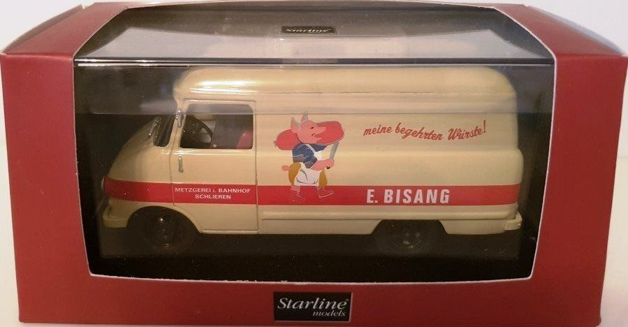 STARLINE MODELS OPEL BLITZ E.BISANG METZGEREI BUTCHER DIE-CAST 1 OF 1000 1 43