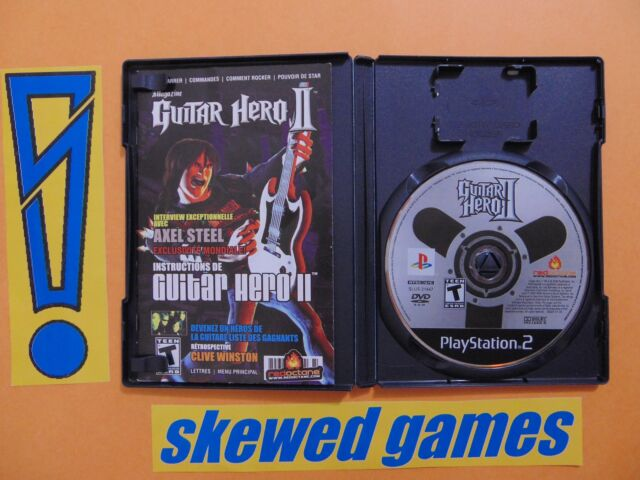 Guitar Hero II - 2 - cib - PS2 PlayStation 2 Sony