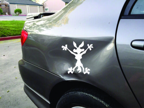 Road Runner Wile E Coyote Decal // Sticker Choose Color /& Size Splat,