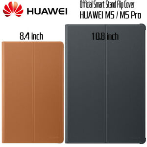 new products cbdb5 cd38a Details about Original Official Smart Leather Case Flip Cover for Huawei  MediaPad M5 8.4 10.8