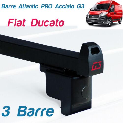 3 BARRE PORTATUTTO PREASSEMBLATE PER FIAT DUCATO ANNO 2016 G3
