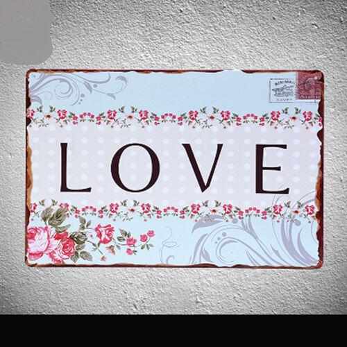 Life Motivational Slogan Tin Poster Vintage Metal Sign Bar Cafe Wall Decor 05