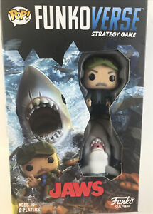 Funkoverse Strategy Board Game Jaws The Shark And Quint Figures Funky Games