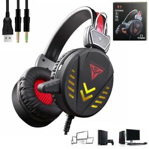 Cascos auriculares con microfono para playstation4 ps4 pc Ordenador Gaming Gamer