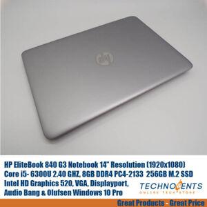 HP-EliteBook-840-G3-CORE-i5-6300U-2-4GHz-8GB-256SSD-Audio-Bang-amp-Olufsen