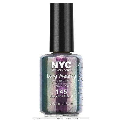 NYC Long Wearing Nail Enamel - Rock the Party!