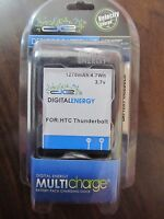 Digital Energy Battery/charger Combo For Htc Thunderbolt 230-1348