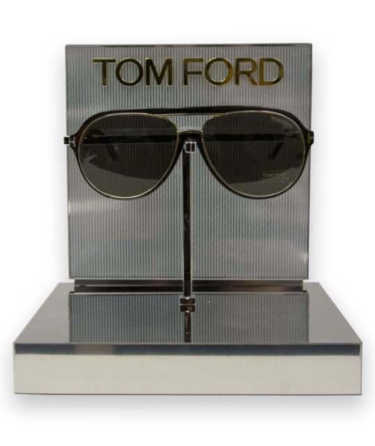 f4e4e76a0ca47 Tom Ford Sergio TF 379 Ft0379 Shiny Black Smoke 01a Sunglasses EYESIZE 60
