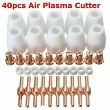 40 Pcs Air Plasma Cutter Consumables Extend Tips For Pt 31 Lg 40 Torch Cut 40 50