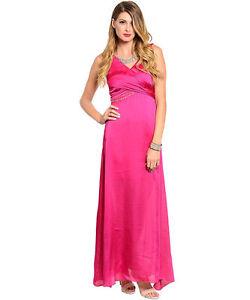 Fuchsia Evening Gown