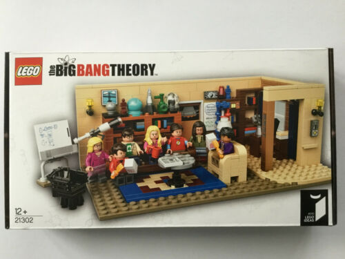 LEGO Ideas 21302 The Big Bang Theory-Nuovo OVP