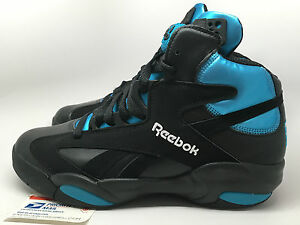 5677275b5f1 Reebok Shaq Attaq Black Azure PUMP Orlando Magic Shaqnosis dmx sz 8 ...