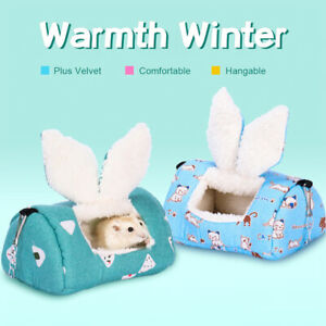 Haustier-warmer-weicher-Pluesch-Schlafsack-Betteichhoernchenhamster