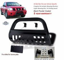 2002 2005 Dodge Ram 1500 Black Powder Coated Classic Bull Bar Bumper Push Bar Fits 2005 Dodge Ram 1500