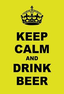 Keep-Calm-And-Drink-Biere-Panneau-Metallique-Plaque-Voute-en-Etain-20-X-30-CM