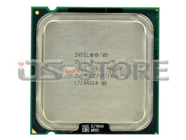 Intel Core2 Duo E6600 SL9ZL Desktop CPU Processor LGA 775 4MB 2.40GHz 1066Mhz