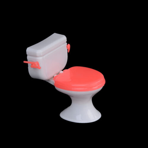 Hot 1pcs Doll Accessories Plastic Toilet Doll Toys Bathroom Home Furniture YN