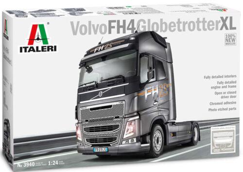 Italeri 3940 Volvo FH4 Globetrotter XL 1:24 Bausatz LKW