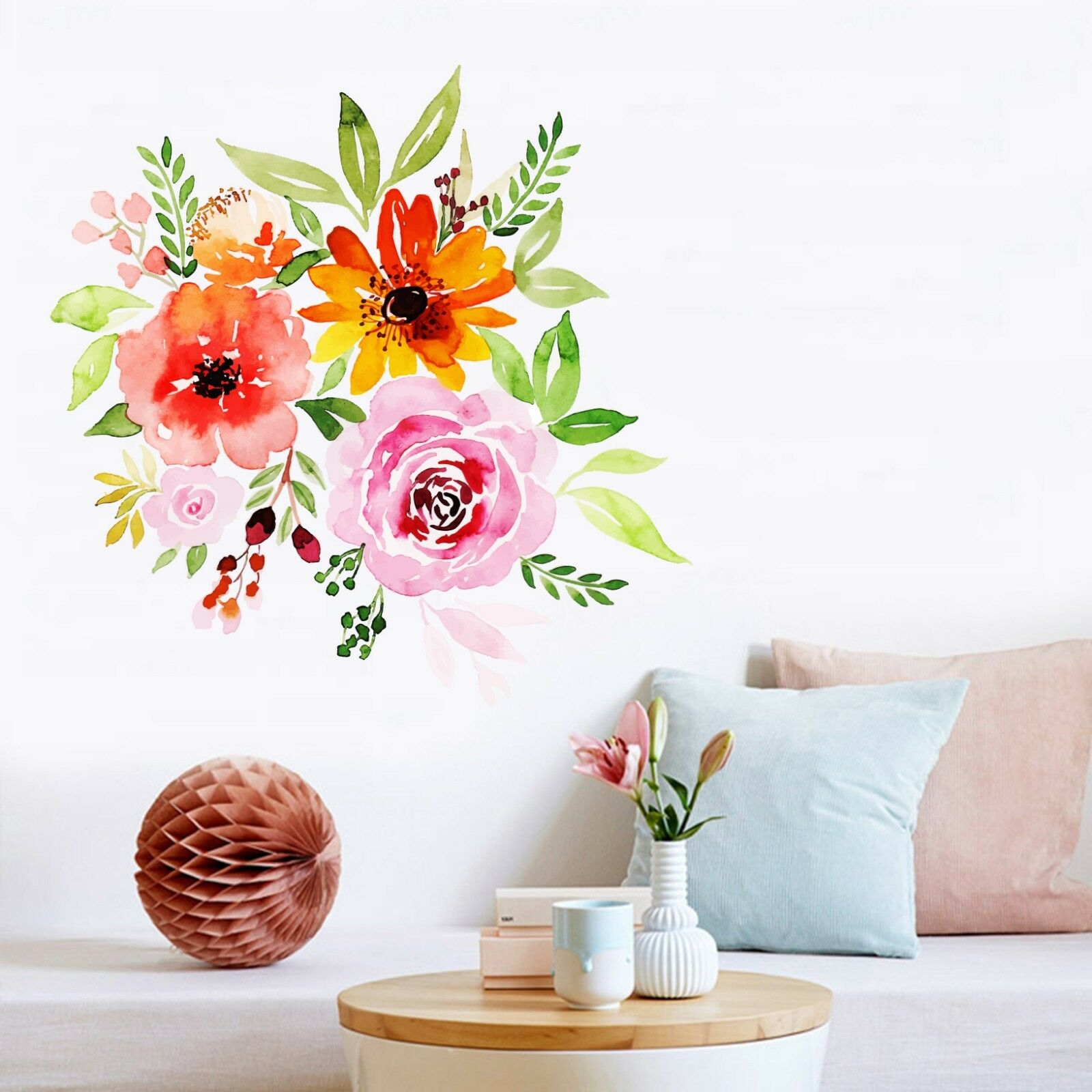 3D Bright Flowers 040 Wallpaper Murals Floor Wall Print Wall Sticker AU Summer