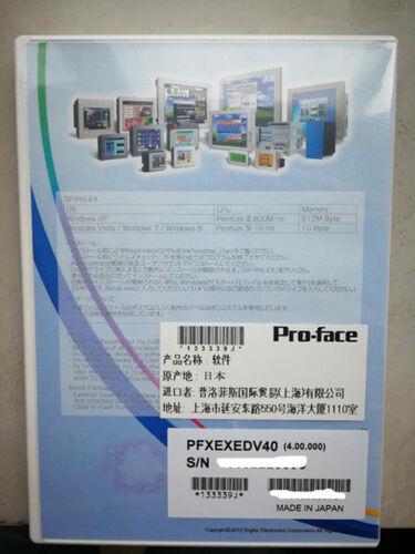 NEW ORIGINAL PROFACE Programming software CD  PFXEXEDV4 FREE EXPEDITED SHIPPING