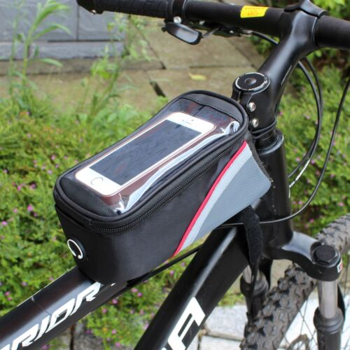 New Navigation Bike Bicycle Frame Front Tube Bag Touch Case For iPhone 6 6S Plus