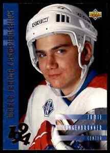 1993-94-Upper-Deck-Jamie-Langenbrunner-Rookie-566
