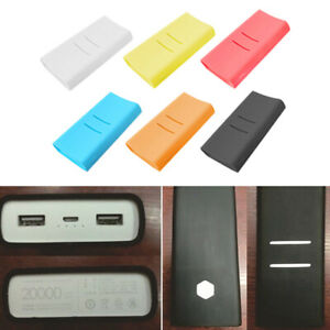 the latest ef194 11bbb Details about Anti-slip Silicone Protective Case Cover For Xiaomi mi 2C  20000mAh Power Bank 2