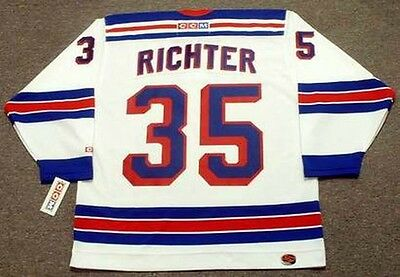check out 89fef fbb8e MIKE RICHTER New York Rangers 2003 CCM Throwback Away NHL Hockey Jersey    eBay