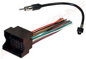 2003 vw jetta monsoon stereo wiring 2002 volkswagen vw jetta wire harness antenna adapter for monsoon  2002 volkswagen vw jetta wire harness