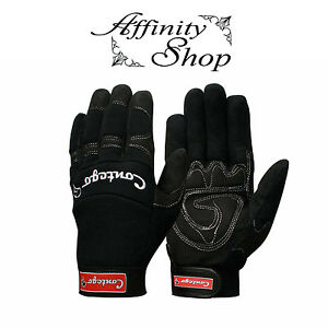 6x Contego Mechanics Gloves Mechanic Style Work Glove Hand Protection Any Size