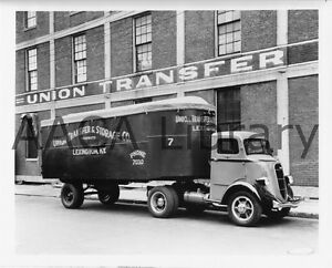1936 Studebaker 2T257 Refrigerator Van Factory Photo Truck Ref. #77914