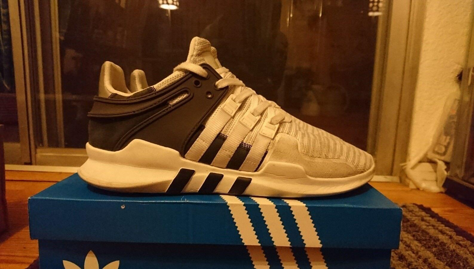 Adidas originale eqt avanzata bianco 9 nero grigio bb1296 sz 9 bianco sostegno fc04b4