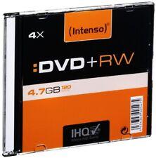 Artikelbild Intenso DVD - Rohlinge Intenso DVD+RW 4x (4,7GB) 10 Slim Case Rohlinge