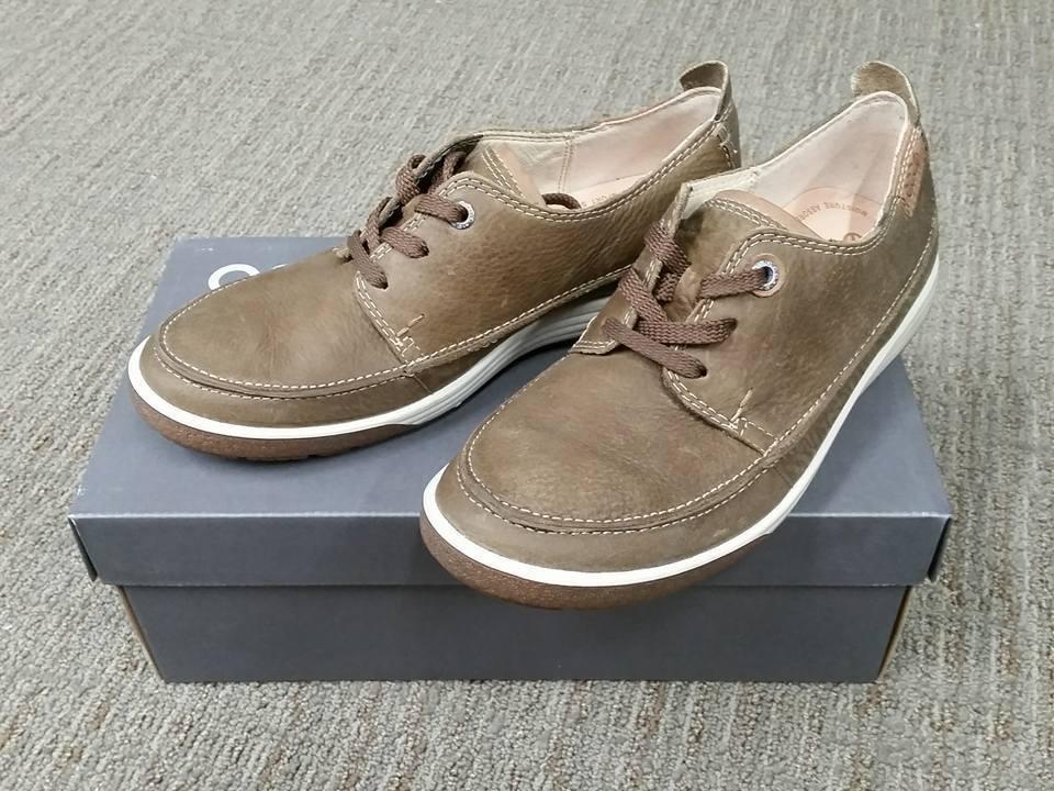 Nuevo En Caja Caja Caja Ecco 236913 para Mujer de encaje Chase II Zapato De Cuero Marrón Abedul Talla 41 (US 10) ca8d0e