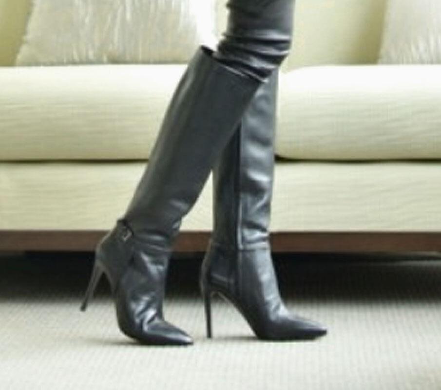 prima qualità ai consumatori NIB NIB NIB Tory Burch MARI Stiletto Tumbled Leather stivali  595 Dimensione 6.5  trova il tuo preferito qui