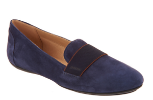 089ff34986d0 GEOX Suede Slip-On Shoes - Charlene Navy Blue Women s Size 7 New
